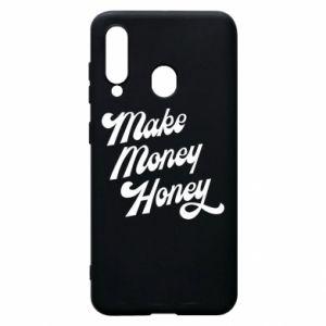 Etui na Samsung A60 Make money honey