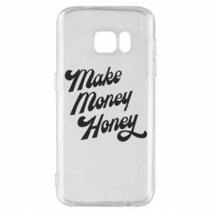 Etui na Samsung S7 Make money honey