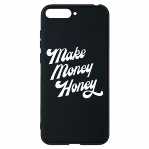 Etui na Huawei Y6 2018 Make money honey