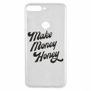 Etui na Huawei Y7 Prime 2018 Make money honey