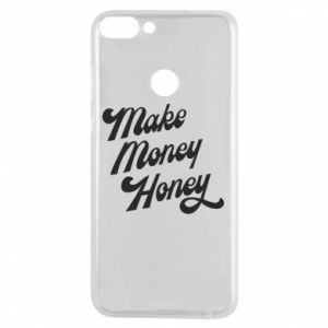 Etui na Huawei P Smart Make money honey