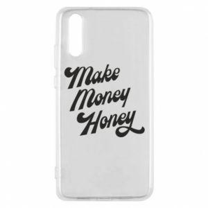 Etui na Huawei P20 Make money honey