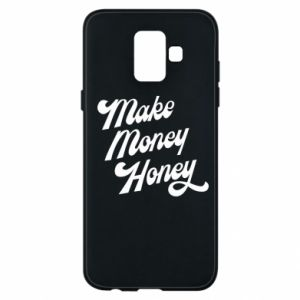 Etui na Samsung A6 2018 Make money honey