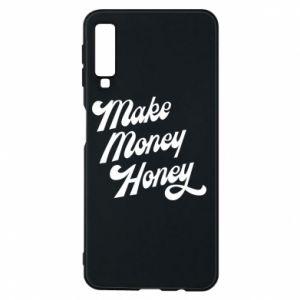 Etui na Samsung A7 2018 Make money honey