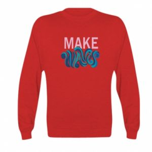 Bluza dziecięca Make wawes