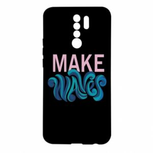 Etui na Xiaomi Redmi 9 Make wawes