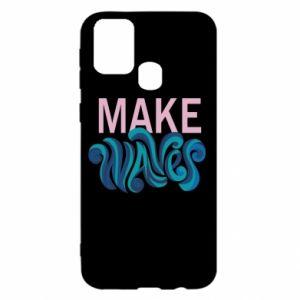 Etui na Samsung M31 Make wawes