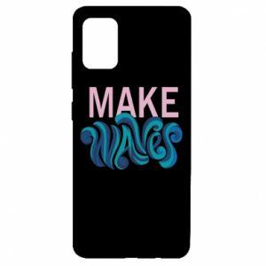 Etui na Samsung A51 Make wawes
