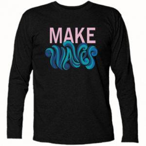 Koszulka z długim rękawem Make wawes