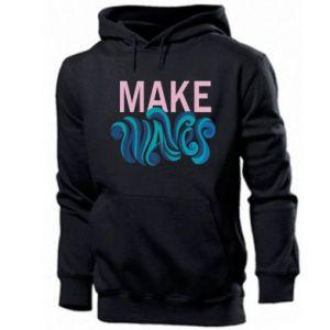 Men's hoodie Make wawes