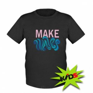 Kids T-shirt Make wawes