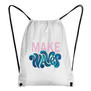 Plecak-worek Make wawes