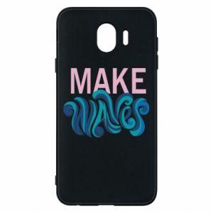 Etui na Samsung J4 Make wawes