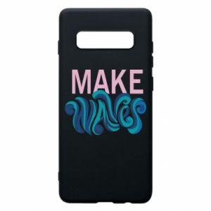 Etui na Samsung S10+ Make wawes