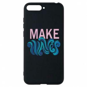 Etui na Huawei Y6 2018 Make wawes