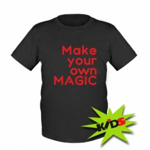 Kids T-shirt Make your own MAGIC