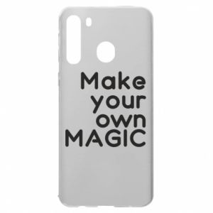 Samsung A21 Case Make your own MAGIC