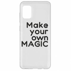 Samsung A31 Case Make your own MAGIC