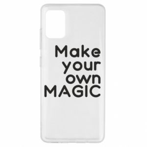 Samsung A51 Case Make your own MAGIC