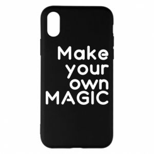 Etui na iPhone X/Xs Make your own MAGIC