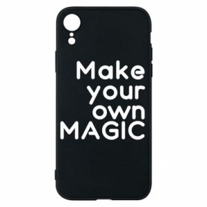 Etui na iPhone XR Make your own MAGIC