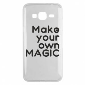 Samsung J3 2016 Case Make your own MAGIC