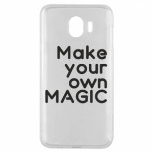 Samsung J4 Case Make your own MAGIC