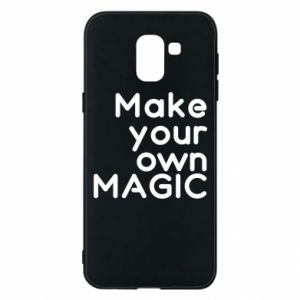 Samsung J6 Case Make your own MAGIC