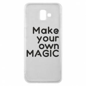 Etui na Samsung J6 Plus 2018 Make your own MAGIC