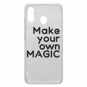 Etui na Samsung A20 Make your own MAGIC