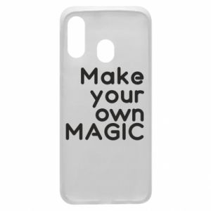 Etui na Samsung A40 Make your own MAGIC