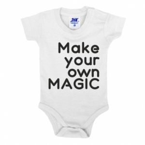 Baby bodysuit Make your own MAGIC
