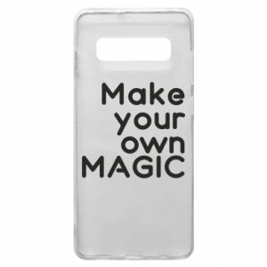 Etui na Samsung S10+ Make your own MAGIC
