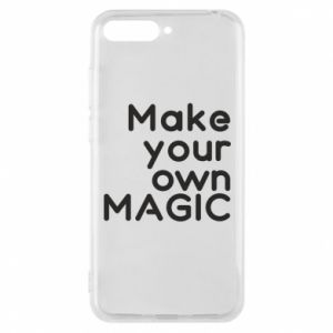 Etui na Huawei Y6 2018 Make your own MAGIC