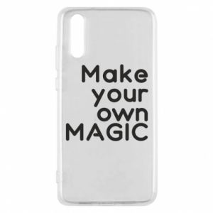 Etui na Huawei P20 Make your own MAGIC