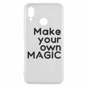 Etui na Huawei P20 Lite Make your own MAGIC