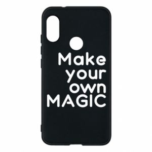 Etui na Mi A2 Lite Make your own MAGIC