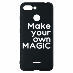 Xiaomi Redmi 6 Case Make your own MAGIC
