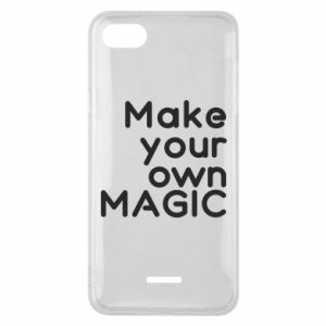Etui na Xiaomi Redmi 6A Make your own MAGIC