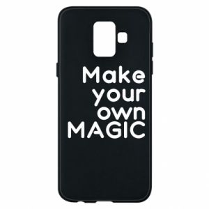 Etui na Samsung A6 2018 Make your own MAGIC