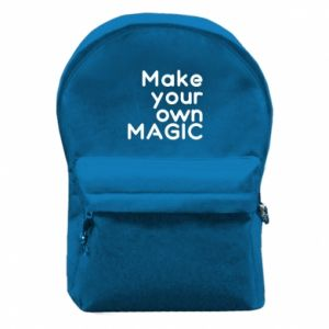 Backpack with front pocket Make your own MAGIC