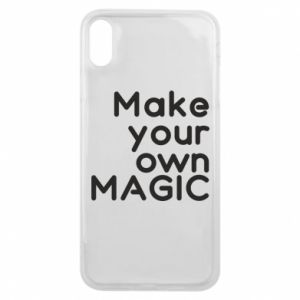 Etui na iPhone Xs Max Make your own MAGIC