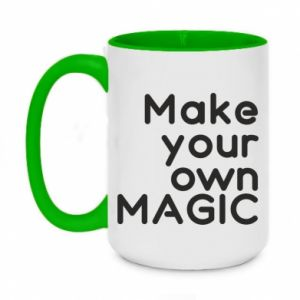 Two-toned mug 450ml Make your own MAGIC