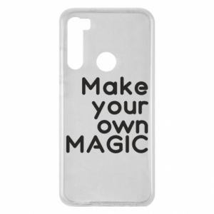 Xiaomi Redmi Note 8 Case Make your own MAGIC