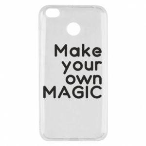 Xiaomi Redmi 4X Case Make your own MAGIC