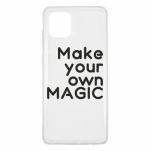 Samsung Note 10 Lite Case Make your own MAGIC
