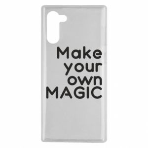 Samsung Note 10 Case Make your own MAGIC
