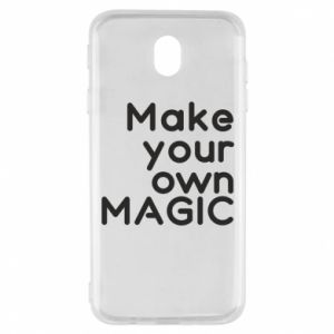 Samsung J7 2017 Case Make your own MAGIC