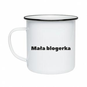 Kubek emaliowane Mała blogerka
