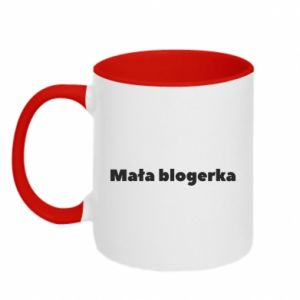 Two-toned mug Little blogger